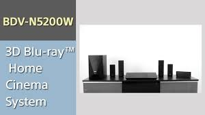 sony wireless home theater system home theater sony bdv n5200w youtube