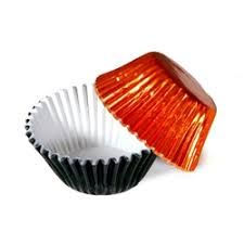 foil candy cups packaging supplies black orange foil candy cup 100 pack