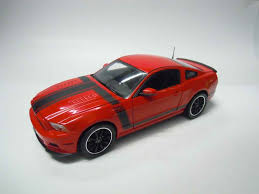 Black Mustang Red Stripes Ford Model Cars Ford Model Cars 454 Shelby Collectibles 2013