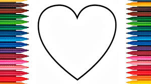 colours kids love hearts coloring pages color hearts
