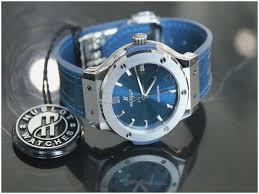 blue titanium bracelet hublot images Unique hublot classic fusion blue titanium bracelet bracelet tom jpg