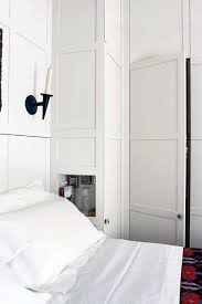 Bedroom Clothes Panelling In Small White Bedroom Clothes Storage Ideas