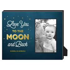 you to the moon personalized photo frame personalized home