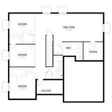 peaceful design ideas basement floor plan gorgeous plans with a