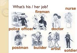 what u0027s his her job a doctor a bus driver a police officer ppt