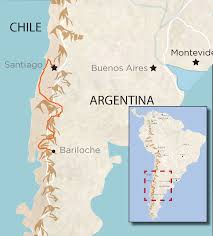 Map Of Chile South America by Che Bariloche To Santiago South America U0027s Best Road Bike Tour