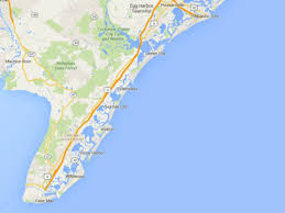Map Of New Jersey Shore Maps Of The New Jersey Shore