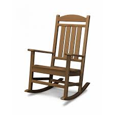 Recycled Plastic Rocking Chairs Polywood Presidential Recycled Plastic Wood Patio Rocking Chair