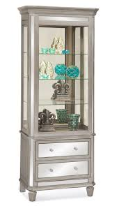 Corner Curio Cabinets Walmart by Decorating Charming World High Class Curio Cabinets Cheap For