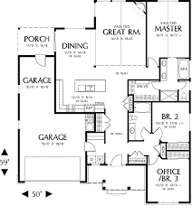 floor plans for building a house cottage house plan with 3 bedrooms and 2 5 baths plan 5543