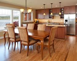 kitchen and dining room open floor plan kitchen dining room remodel completure co