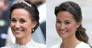 kate middleton s earrings pippa middleton s something was the callback to
