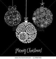 black white ornaments stock vector 113982769