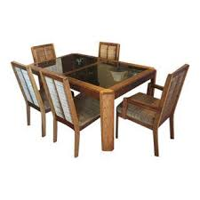 vintage used dining table chair sets chairish