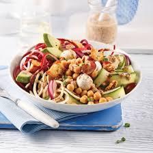 legume a cuisiner salade de légumes spirales pois chiches et bocconcinis recettes