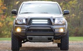 tacoma grill light bar fitting light bar behind grill page 3 tacoma world