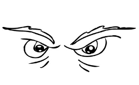eye coloring pages getcoloringpages