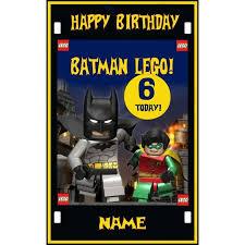 personalised batman lego birthday card a5 2 30 free p u0026p on ebid