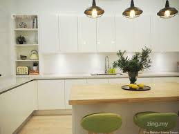 modern scandinavian kitchen design in shah alam interior design