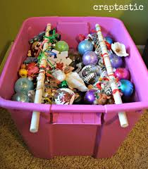 craptastic cheap and easy diy ornament storage