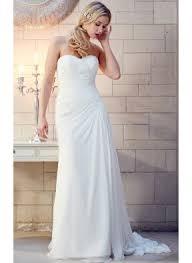 chiffon wedding dresses