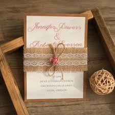 burlap wedding programs layered wedding invitations from elegantweddinginvites