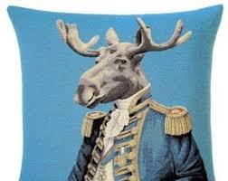 Christmas Moose Home Decor Moose Gift Etsy