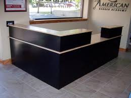 Custom Maple Reception Desk Country Lane Furniture