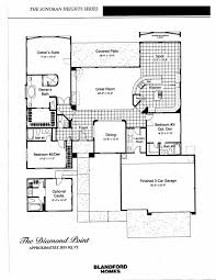 Desert Home Plans Las Sendas Floor Plans U2014 The Bearse Team