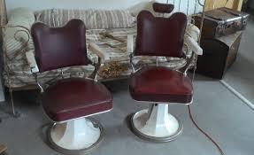 siege de coiffure fauteuil barbier coiffeur design atelier loft industriel cuir
