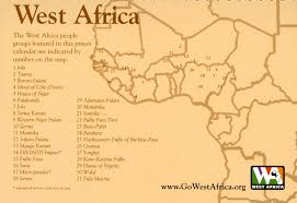 Map West Africa by World Prayer And Mission Resources