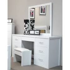 By Designs Ibiza  Drawer Dressing Table With Mirror Bedroom - Dressing table with mirror designs