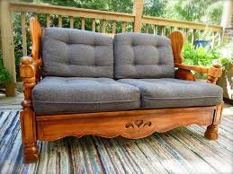 Sofa Wood Frame Wood Frame Couch With Removable Cushions Ideas Home Decorations