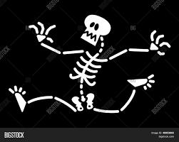 Halloween Skeleton Scared Halloween Skeleton Running Away Stock Vector U0026 Stock Photos
