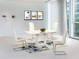 extendable dining table and chairs with ideas image 9248 zenboa