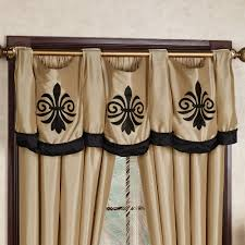 Fleur De Lis Curtains Onyx Empire Window Treatment