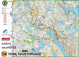 Map Java Nuuksio Classic Trail Marathon 2016 September 3rd 2016