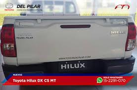 toyota sitio oficial toyota hilux cabina simple dx 2 4 diesel 4x4 mt6 150cv deautos com