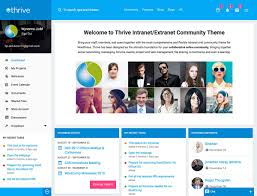 wordpress templates for websites 5 best intranet wordpress themes 2017 athemes