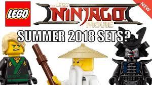 lego ninjago movie summer 2018 sets speculation youtube
