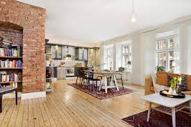 the charm and character of exposed brick