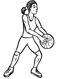pictures girls playing basketball free download clip art