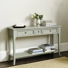 robinwood 3 drawer console table braden 3 drawer console shelves plates and entry hall