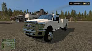 Ford F350 Service Truck - ford f550 service v1 ls17 farming simulator 2017 17 ls mod