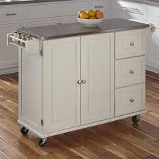 stainless top kitchen island stainless steel kitchen islands carts you ll wayfair