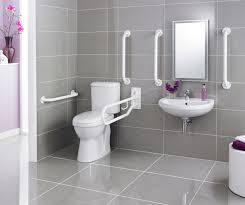 bathroom ideas public handicap bathroom with toilet and