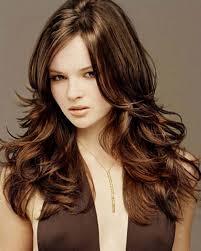black hair with chocolate brown highlights women medium haircut