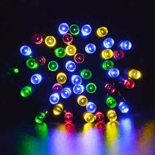 automatic outdoor christmas lights 10m100led solar waterproof light strings christmas new year garden