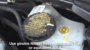 where is the brake fluid nissan altima 2013 2014 youtube