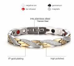 germanium health bracelet images Health energy magnetic ion germanium fashion bracelet jpeg